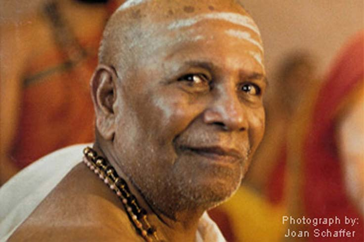 Sri Pattabhi Jois im Portrait